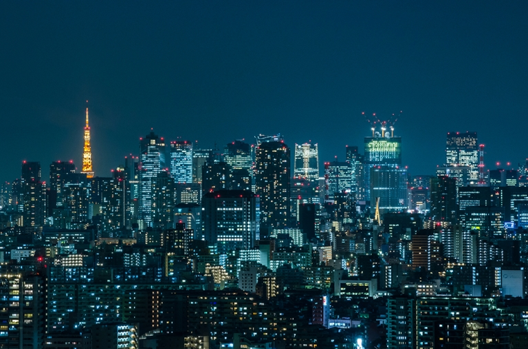 Photo of Tokyo Skyline at Night