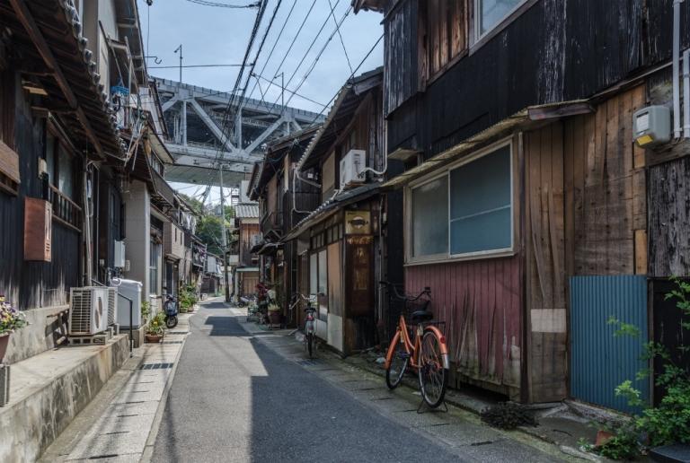 Sidestreet in Japan