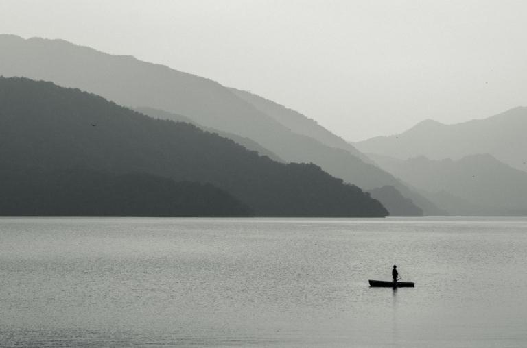 Photo of Lake Chuzenji