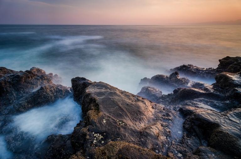 Photo of Japan coastline