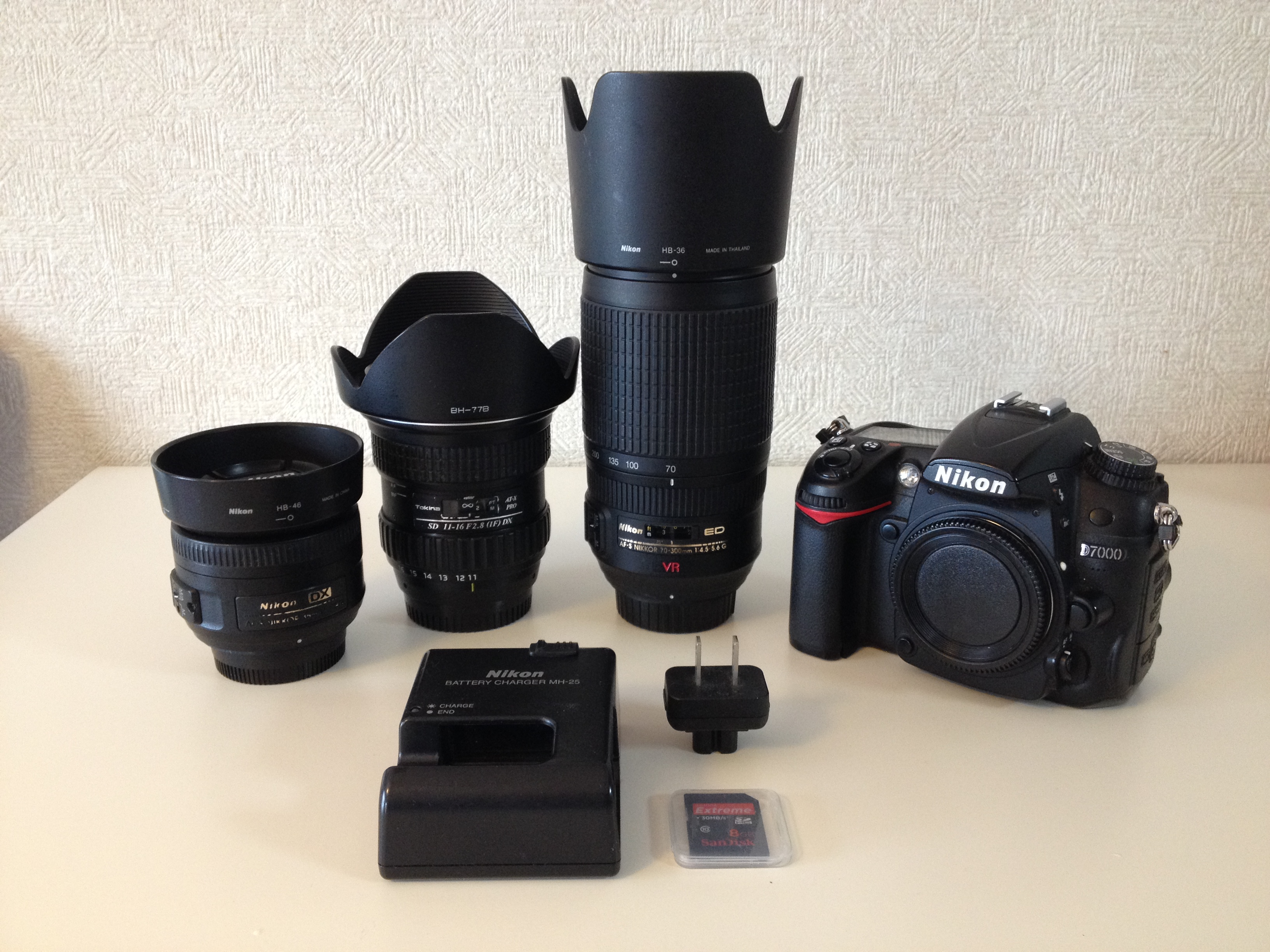 Selling My Nikon D7000 With Three Lenses - Les Taylor Photo