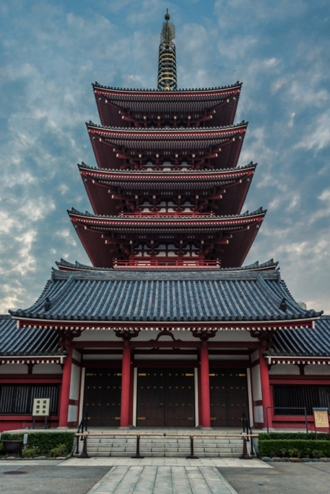 5 Story Pagoda Sensoji