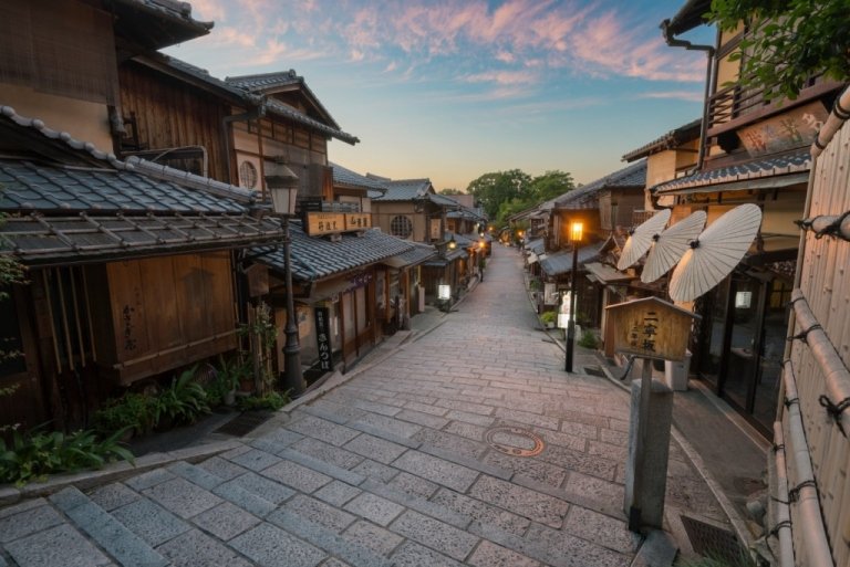 Photo of Ninenzaka Street in Kyoto