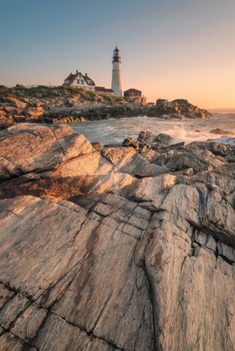 The Portland Head Lighthouse Maine