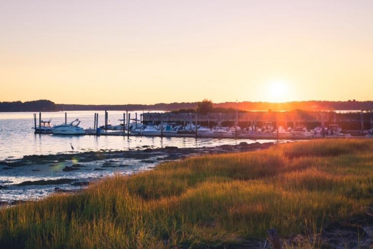 Newicks Lobster House sunset