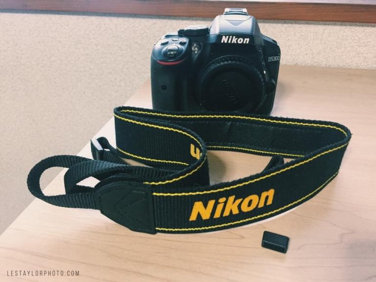 Damaged Nikon D5300 Shutter Error