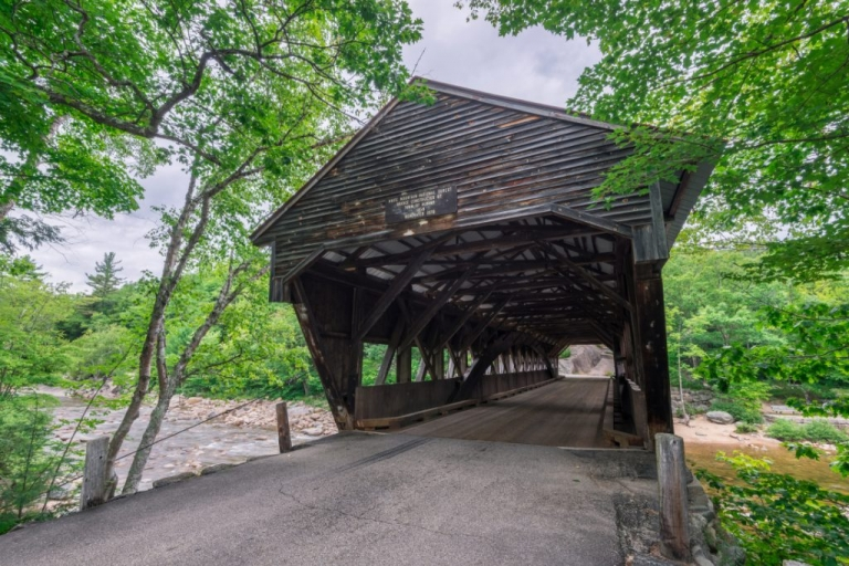 Photo of Albany Covered Bridge White Mountains