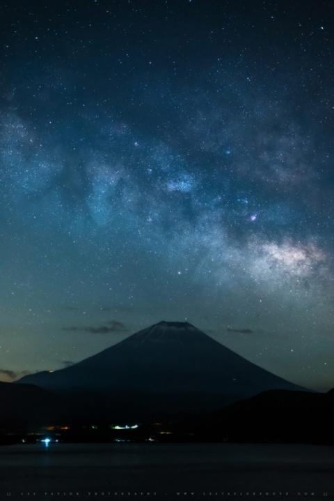 Milky Way Over Mt Fuji