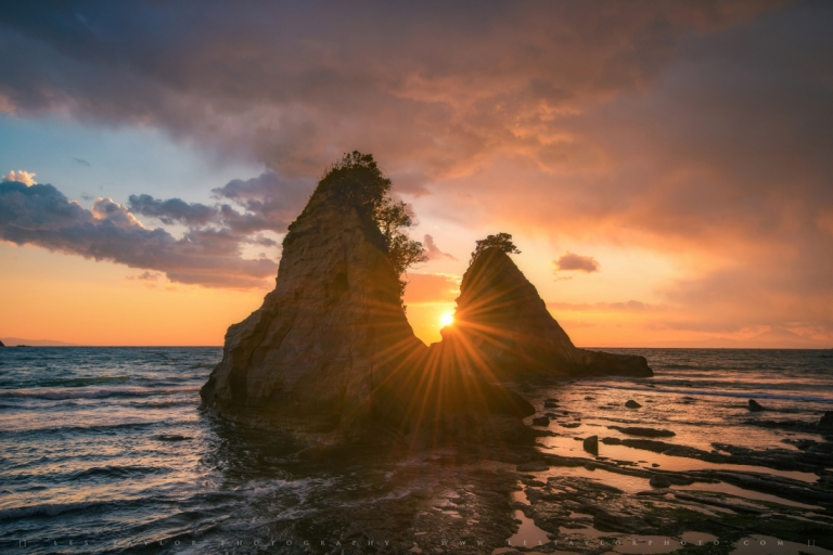 Sunset Chiba Prefecture Japan